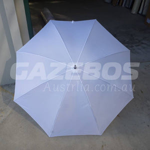 Shelta Bogey White Golf Umbrella