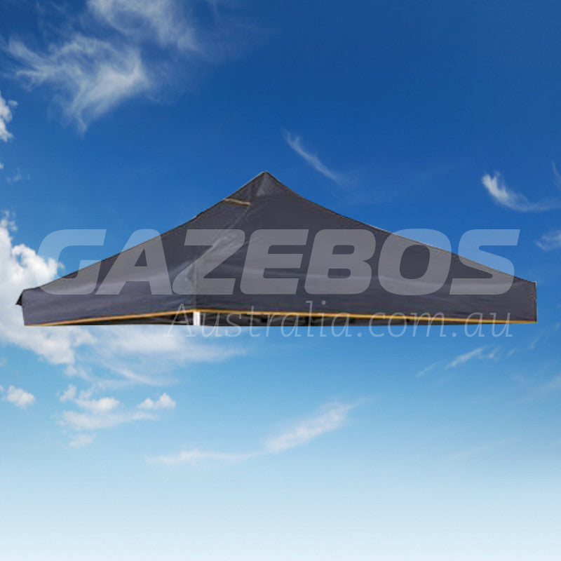 3m x 3m Replacement Canopy for OZtrail Deluxe Hydroflow  3.0 Gazebo Grey