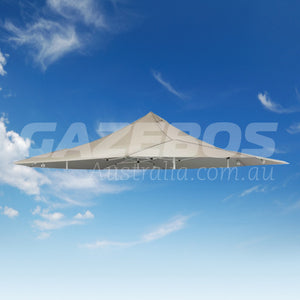 4.8m x 4.8m Replacement Canopy for OZtrail Shade Max 4.8 Gazebo Natural