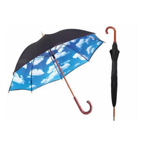 Shelta Blue Sky (Clouds) Rain Umbrella with UPF50+
