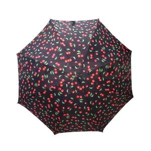 Shelta Cherries Long Handle UPF50+ Umbrella For Women