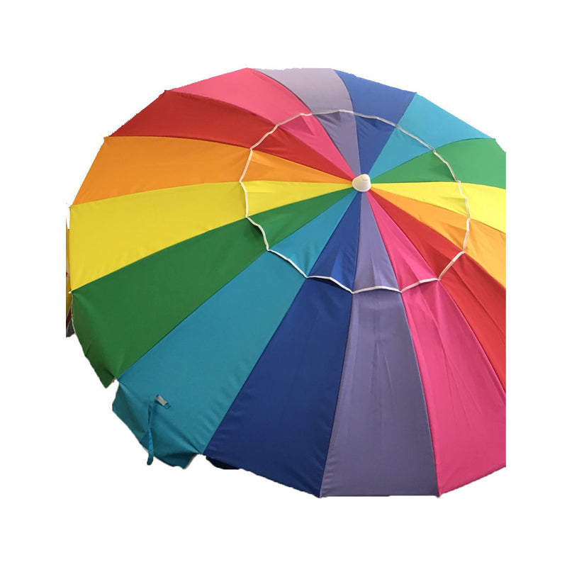 Shelta Manly Rainbow 220cm Beach Umbrella
