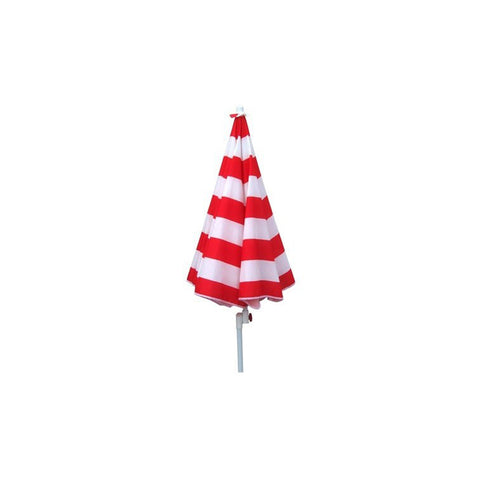 Shelta Noosa Red/White 175cm Sun Shade Umbrella