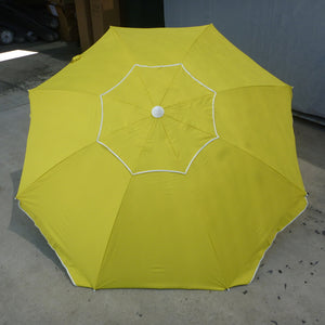 Shelta Pacific Yellow 200cm Beach Umbrella