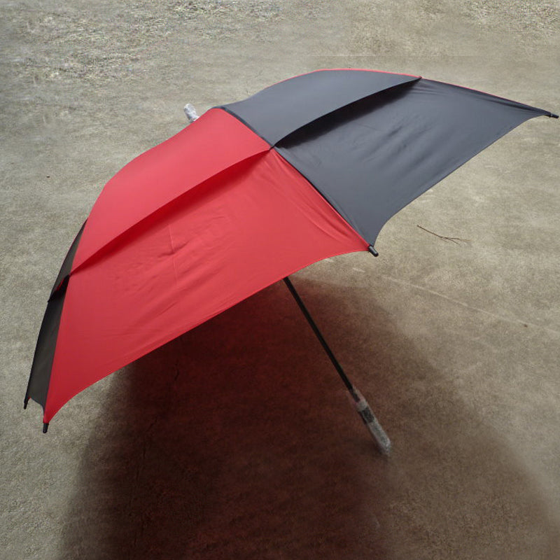 Shelta Strathgordon Golf Umbrella In Black/Red Colour