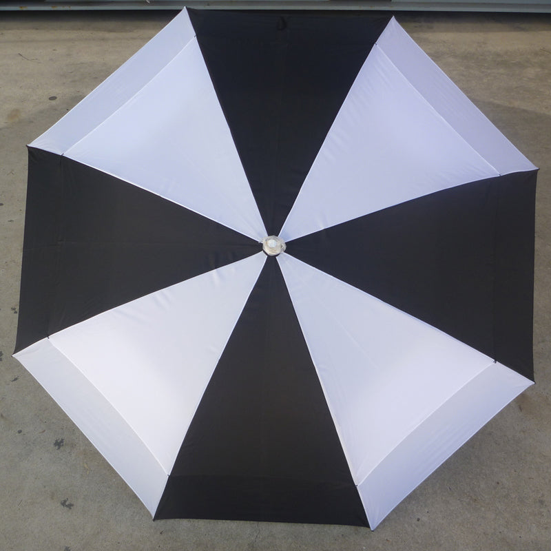 Shelta Strathgordon Golf Umbrella In Black/White Colour