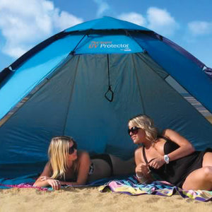 Shelta 2.8m x 1.5m Super UV Protector UPF50+ Pop Up Beach Shelter Shade Tent