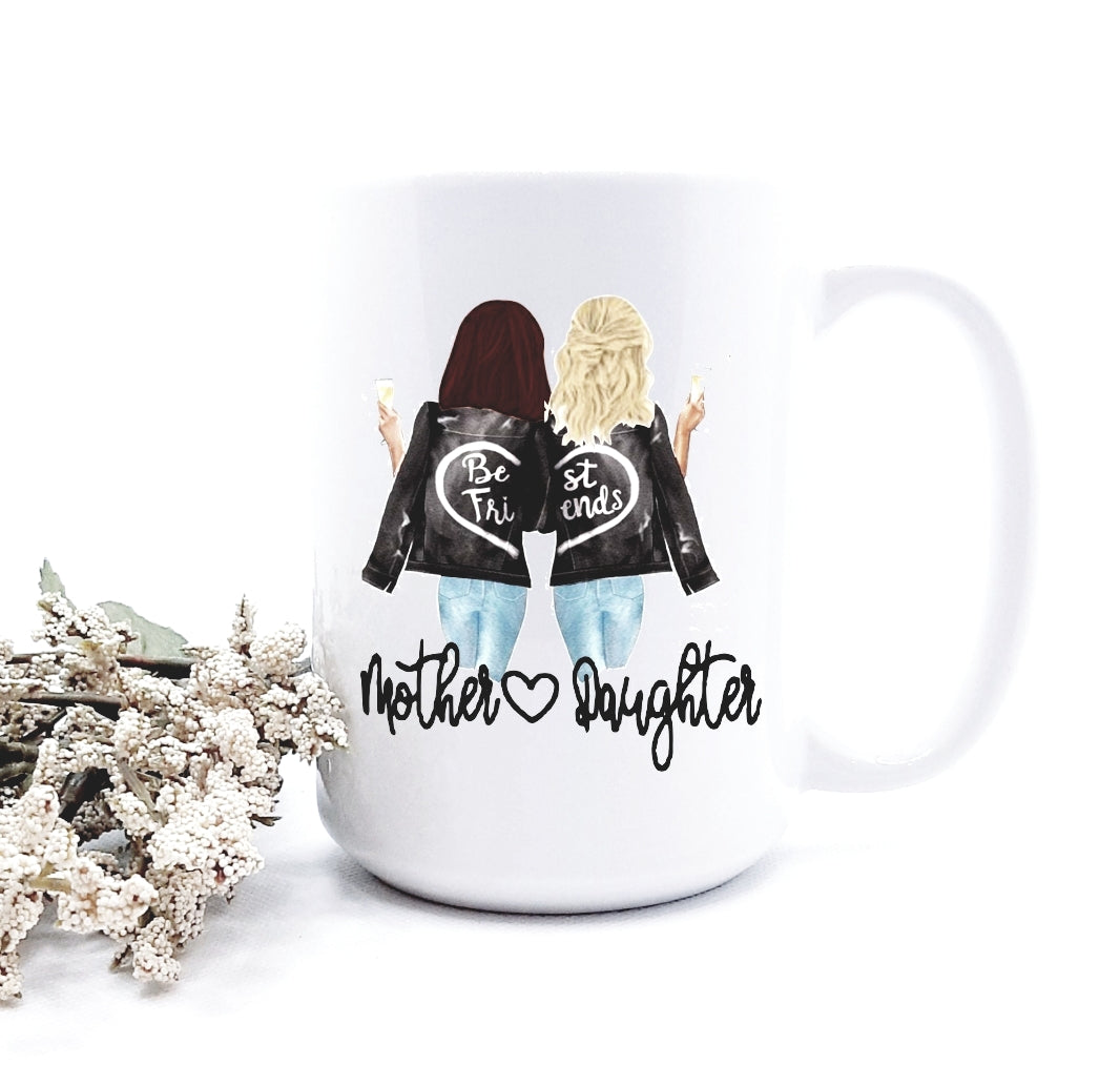 Mother Daughter mug
