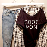 Off shoulder tee - COOL MOM