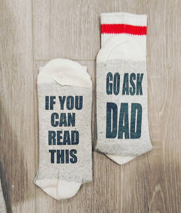 Copy of Copy of Copy of Socks - go ask your dad