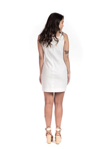 ALBA DRESS - WHITE