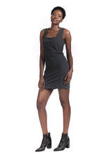 Load image into Gallery viewer, ALBA DRESS - CHARCOAL
