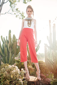 'PAINT THE TOWN' ORGANIC COTTON PANT