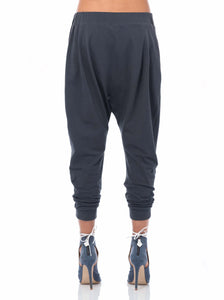 'THE TRAVELLER' ORGANIC COTTON DROP CROTCH PANT