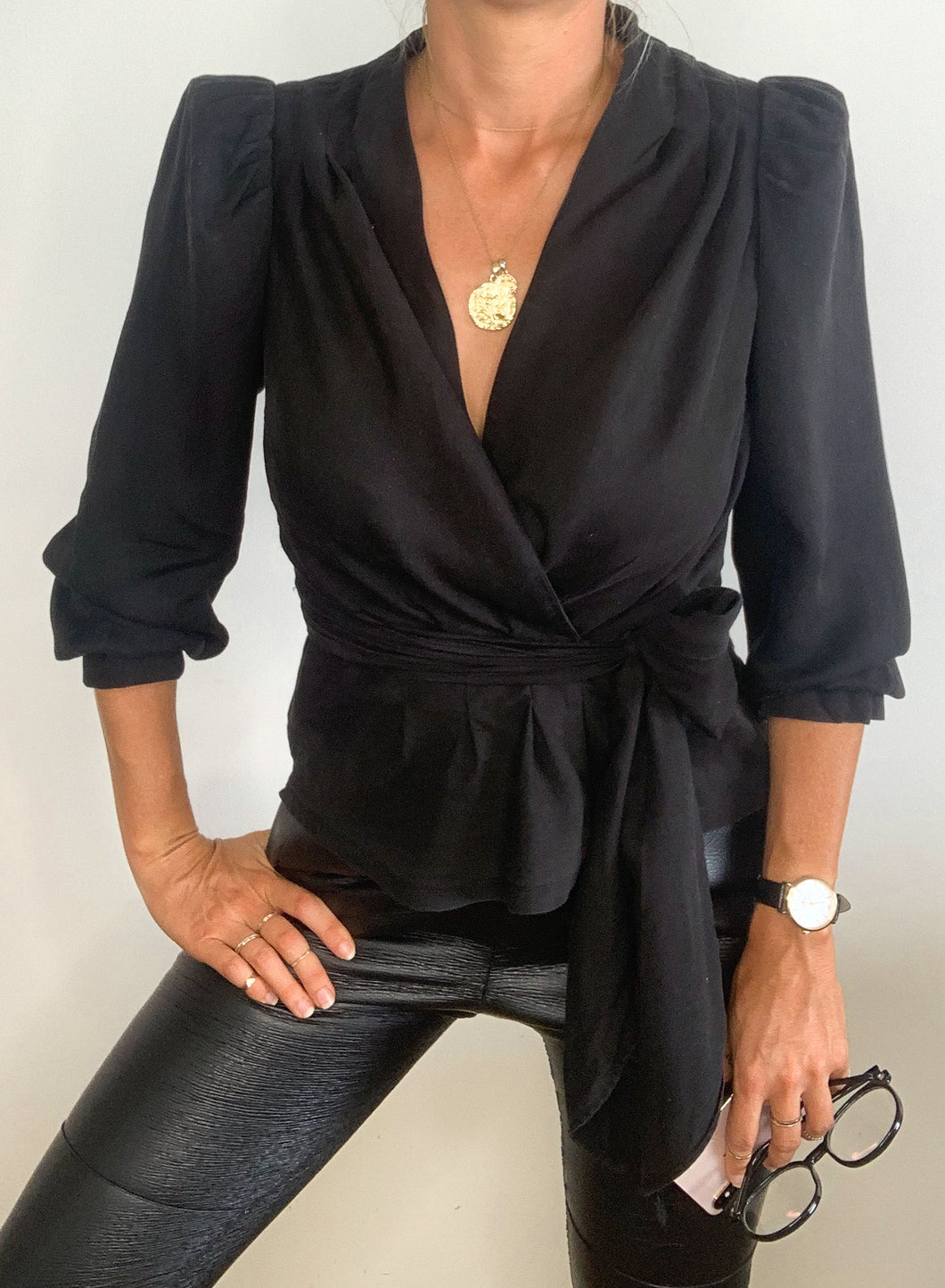 STELLA TOP - BLACK