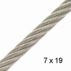 Stainless steel wire 4.0mm - 7x19