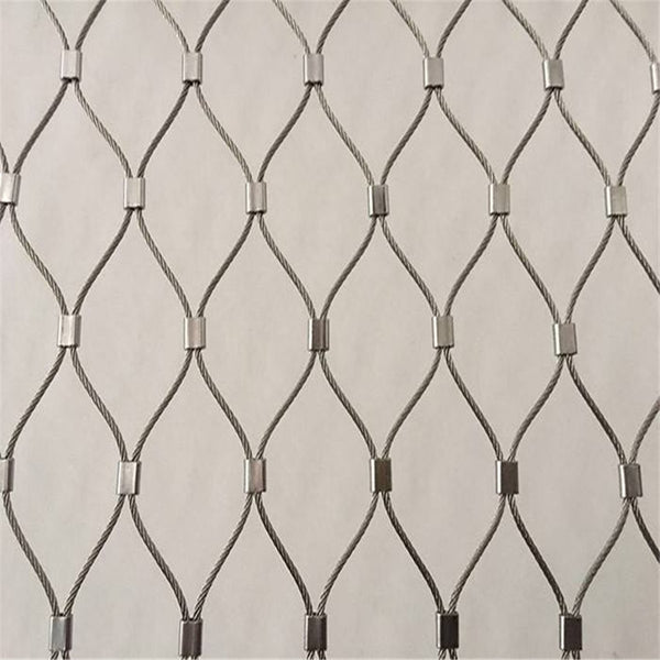 2mm x 1mtr wide Stainless steel cable mesh