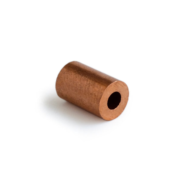 COPPER - 3mm ROUND (DIN Code machine press ferrule)