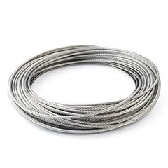 Stainless steel wire 4.8mm - 7x19 / per metre
