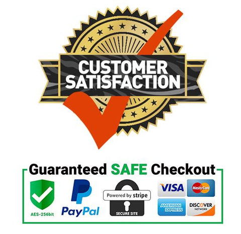 Customer satisfaction safely checkout