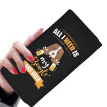 Load image into Gallery viewer, Customised Beagle Theme Women Wallet - Womens Wallet