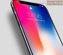 Load image into Gallery viewer, Uv Hardened Tempered Glass Pc Phone Case For Iphone X 8 8P 7 7P 6 6S 6P