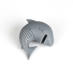 Silicone Cat Tea Infuser Or Strainer - Shark / Grey - Tea Infuser