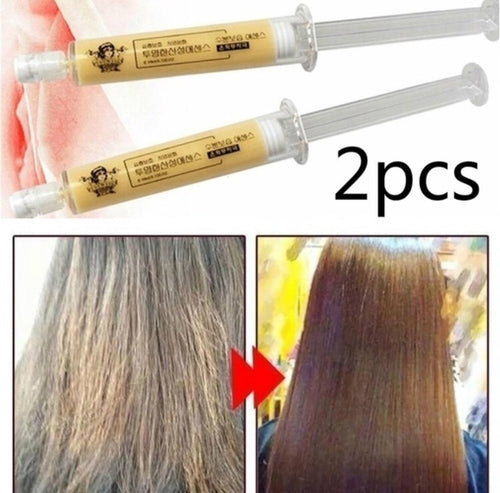 Keratin Repair Hair Treatment Mask (2pcs or 4 pcs)-Keratin Repair Hair Mask-Fynn Depot-Value Pack (4pcs) for 4 Times Treatment-Fynn Depot