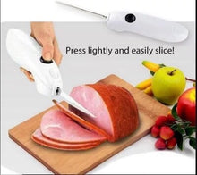 Load image into Gallery viewer, Stainless Steel Easy Cut Slicer Cordless & Battery Powered - New