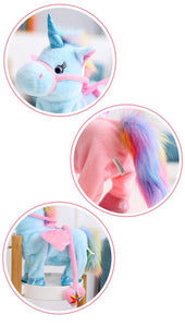Electric Walking Unicorn Plush Toy-Fynn Depot-Fynn Depot