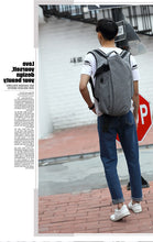 Load image into Gallery viewer, Stylist Mens Travel Laptop Bagpack-Fynn Depot-Fynn Depot