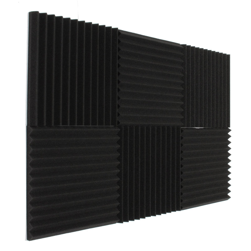 Acoustic Panels Studio Foam Wedges 30*30*3 cm X 6pcs-Acoustic Foam-Fynn Depot-Fynn Depot