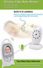 Load image into Gallery viewer, Wireless Baby Monitoring With Lcd Display & Speaker - Baby Monitor