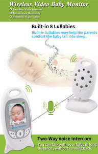 Wireless Baby Monitoring With Lcd Display & Speaker - Baby Monitor