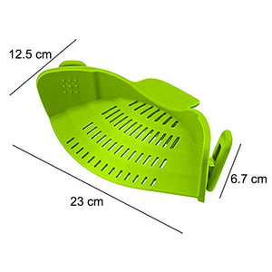Creative Silicone Clip-On Hot Water Drainer - Clip On Strainer