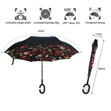 Load image into Gallery viewer, Windproof Magic Reversible Umbrella - Umbrella