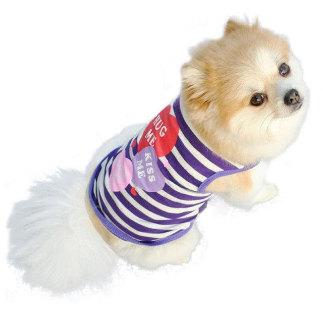 Small Dog Clothing - Blue / L - Pet Cloth