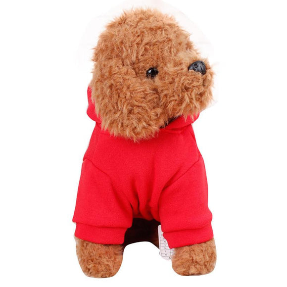 Winter Dog Coats Pet Clothes Small Dog Clothes Pets Coats Soft Cotton Puppy For Winter Outside wear Small Clothes dogs Jackets - Fynn Depot