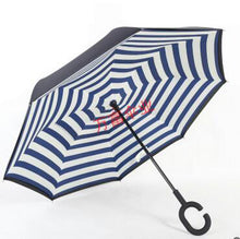 Load image into Gallery viewer, Magic Windproof Reversible Umbrella - Light Green - Umbrella