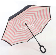 Load image into Gallery viewer, Magic Windproof Reversible Umbrella - Brown - Umbrella