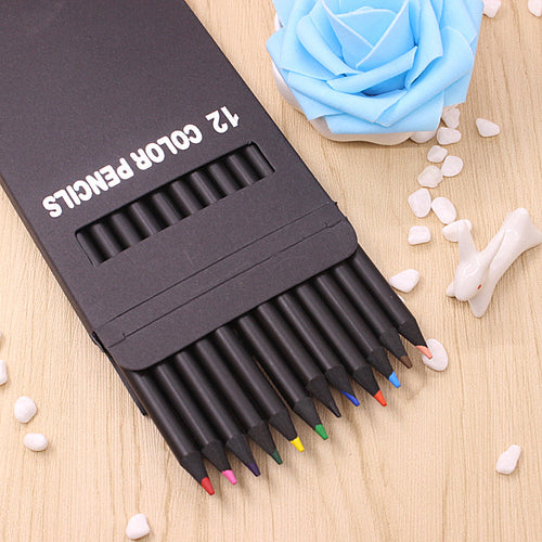 12 Pcs Set Color Pencils - Color Pencils