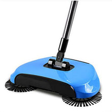 Load image into Gallery viewer, Magic 360 Broom Dustpan Stainless Steel Hand Push Sweeper - Blue - Sweeper