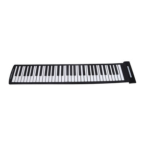 Portable 61 Keys Roll-Up Piano With Usb Midi Keyboard Midi Controller - Roll-Up Piano