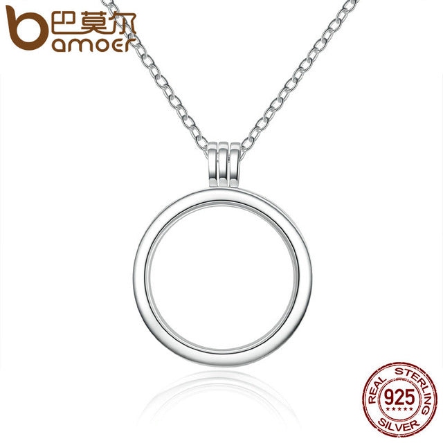 Silver Necklaces & Pendants Sterling Silver Jewelry - Floating Locket - Necklace