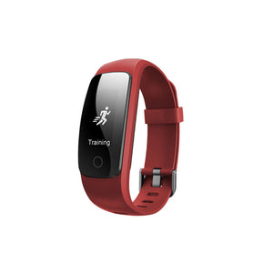 Multifunction Fitness Tracker Hr Smart Watch Android And Ios Unisex - Red - Smart Watch Unisex