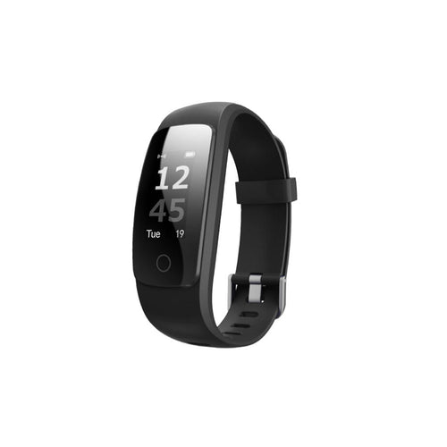Multifunction Fitness Tracker Hr Smart Watch Android And Ios Unisex - Black - Smart Watch Unisex