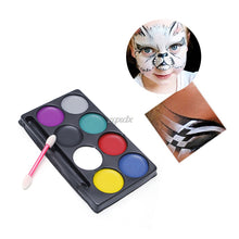 Load image into Gallery viewer, Body Face Paint Kit Art Makeup Painting 8 Colors Pack - Face Paint
