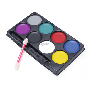 Body Face Paint Kit Art Makeup Painting 8 Colors Pack - Face Paint