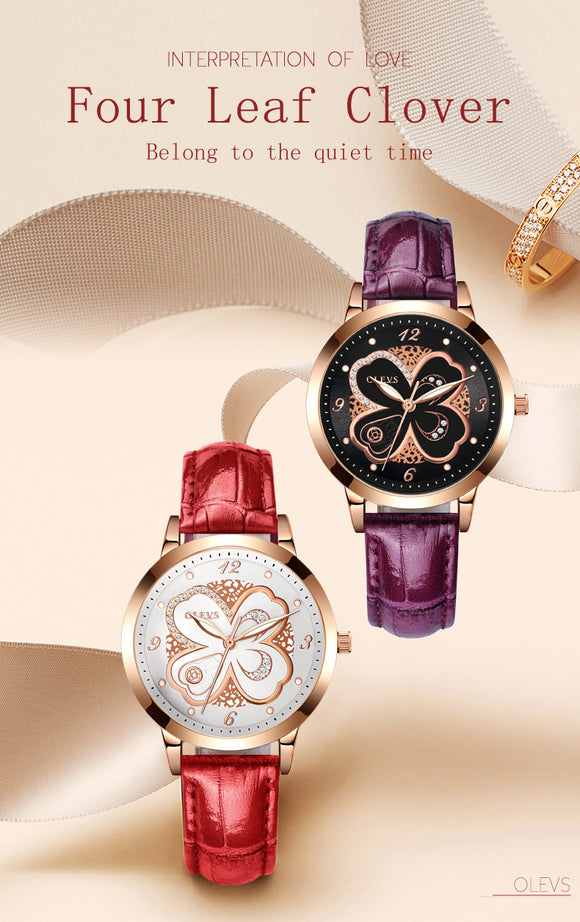 Rose Gold Casual Quartz Stylist Women Watch