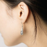 925 Sterling Drop Earrings - Fynn Depot